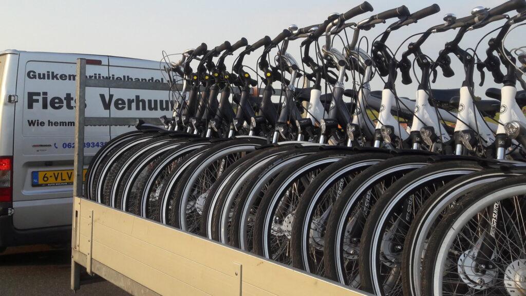 fietsen voor groepen